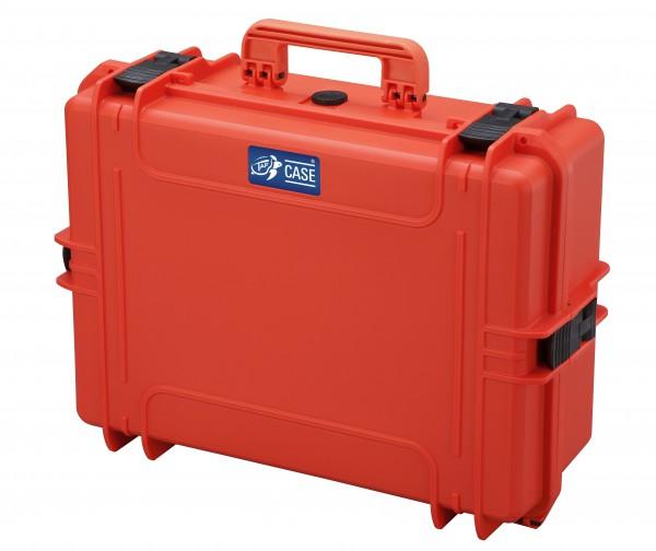 TAF Case 500 orange - Spezialausf. mit Werkzeugplatte und Dokumententasche, B-Ware mit %