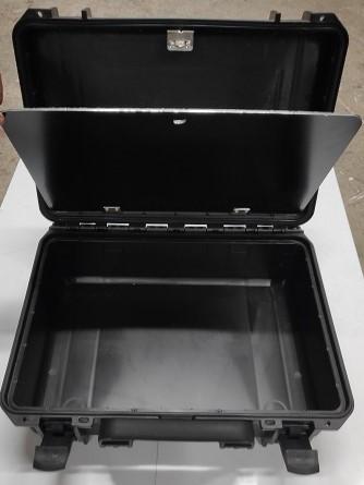 TAF Case 400 schwarz, Spezialausf. mit Innenplatte, B-Ware mit %