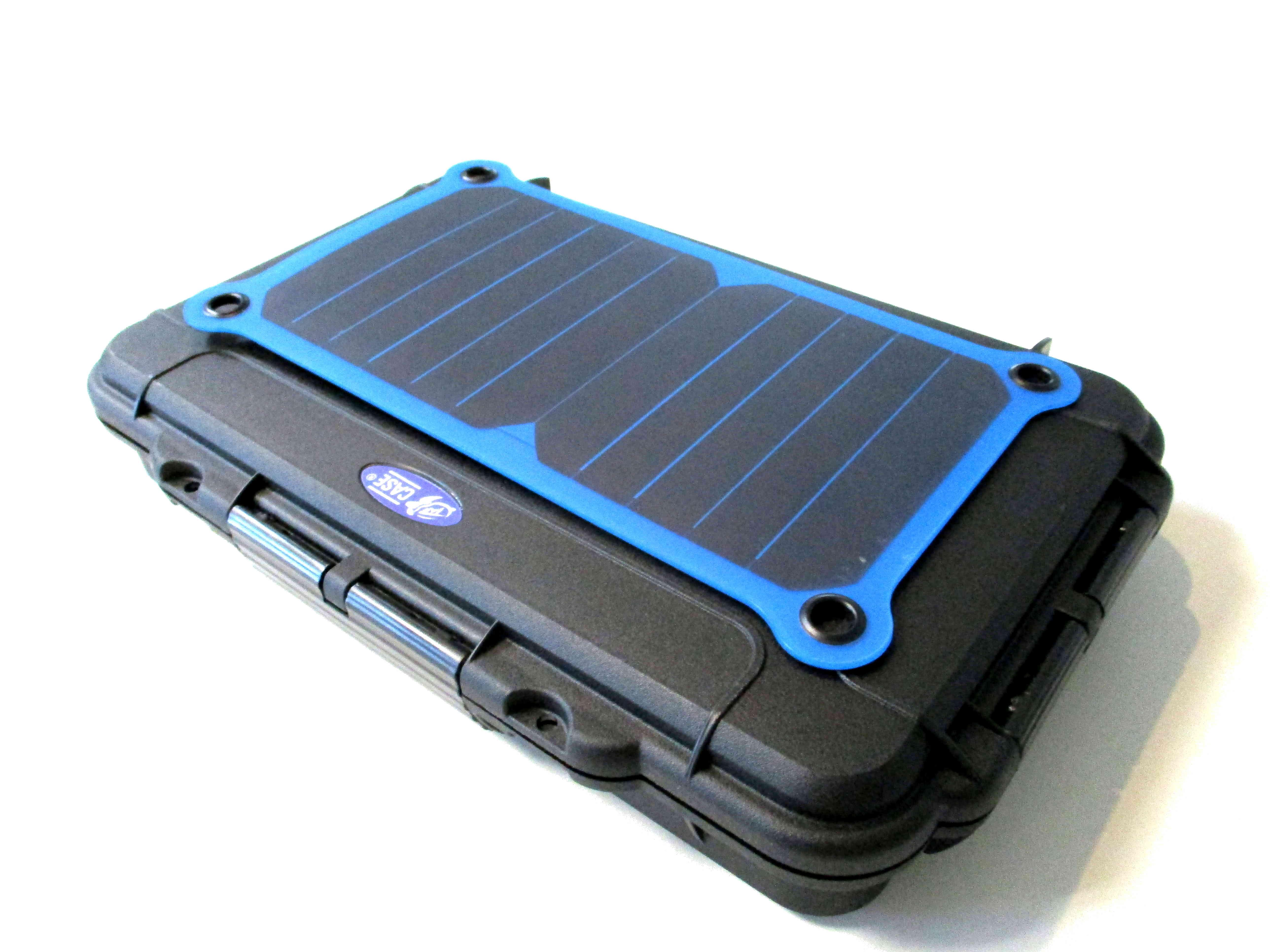 taf case 103 outdoor koffer mit usb solar ladeger t. Black Bedroom Furniture Sets. Home Design Ideas